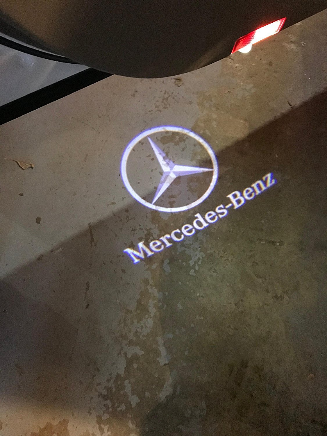 Car Door LED Ghost Shadow Light for Mercedes-Benz ML(W166) E(W212) B180 B200 B260 A180 A200 A260 C Coupe(Two Door) Benz GL350,450,500,63 by Knragho (Image #6)