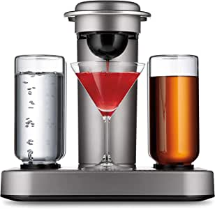 Bartesian Premium Cocktail and Margarita Machine for the Home Bar with Push-Button Simplicity and an Easy to Clean Design (55300)