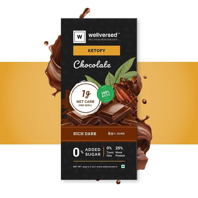 Keto Chocolate (50g) | Sugar Free Unsweetened
