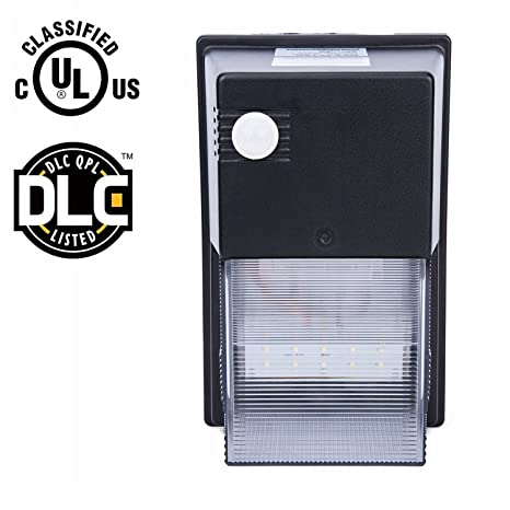 Lightess led wall pack light with motion sensor and photocell for lightess led wall pack light with motion sensor and photocell for auto onoff outdoor aloadofball Image collections