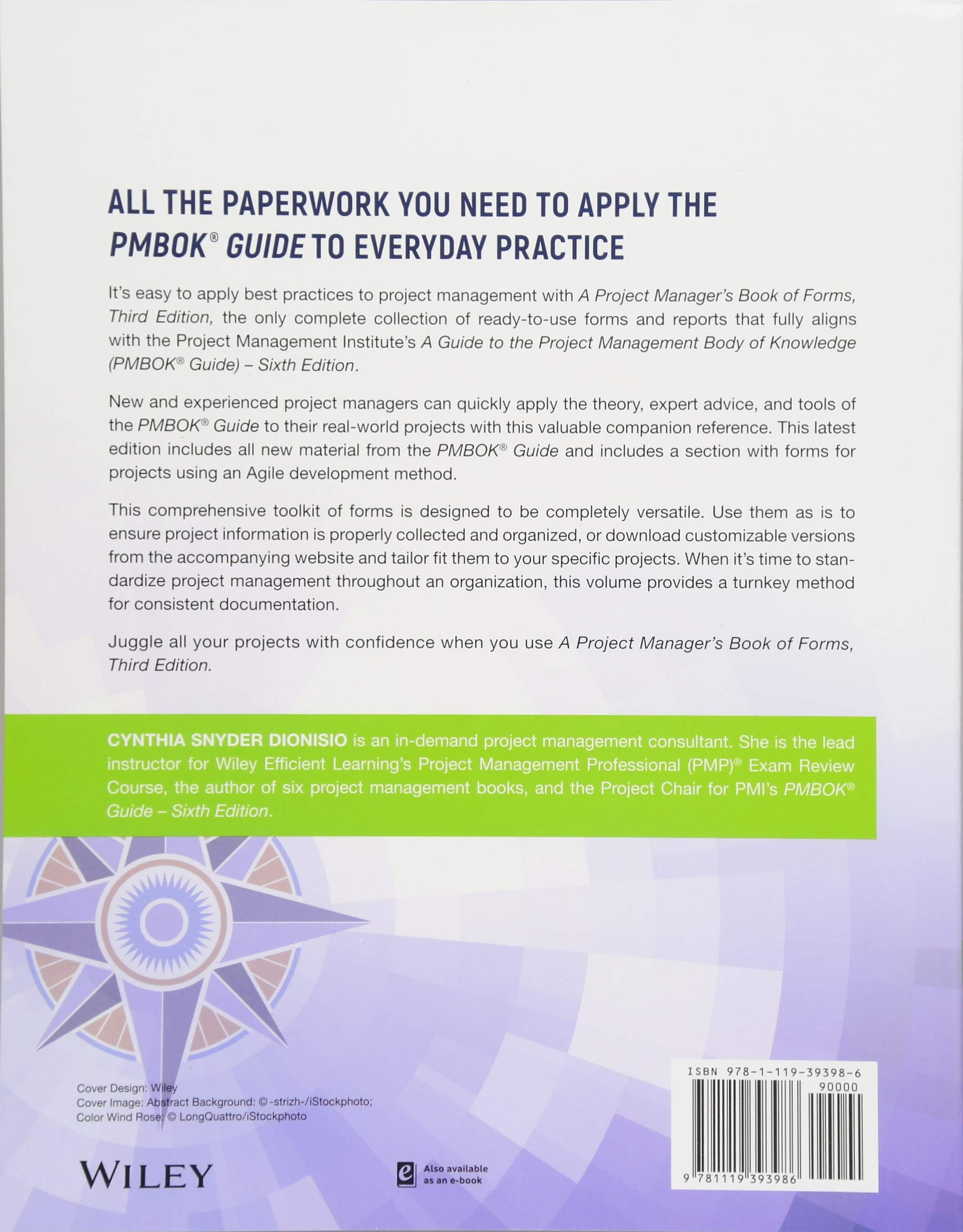 Pmi Book Of Forms