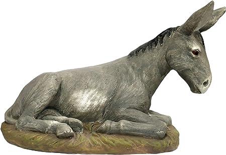 Ferrari & Arrighetti Statue presepe: Asino Linea Martino Landi per