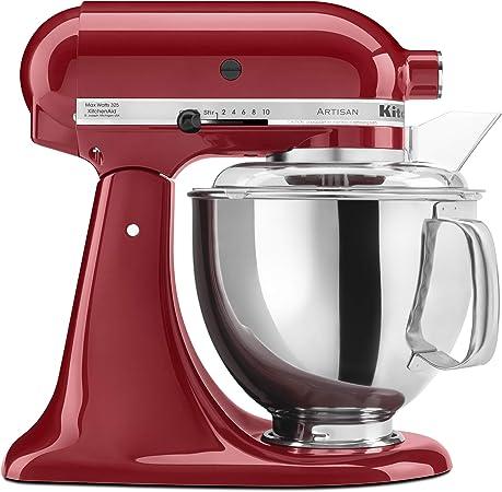Kitchenaid Ksm150pser Artisan 5 Quart Stand Mixer Empire Red Amazon Ca Home Kitchen