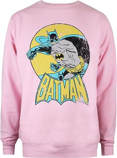 DC Comics Batman Retro Jersey para Mujer