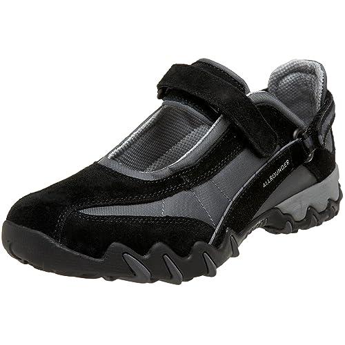 ALLROUNDER by MEPHISTO Women's Niro Mary Jane Sneaker,Black,5.5 ...