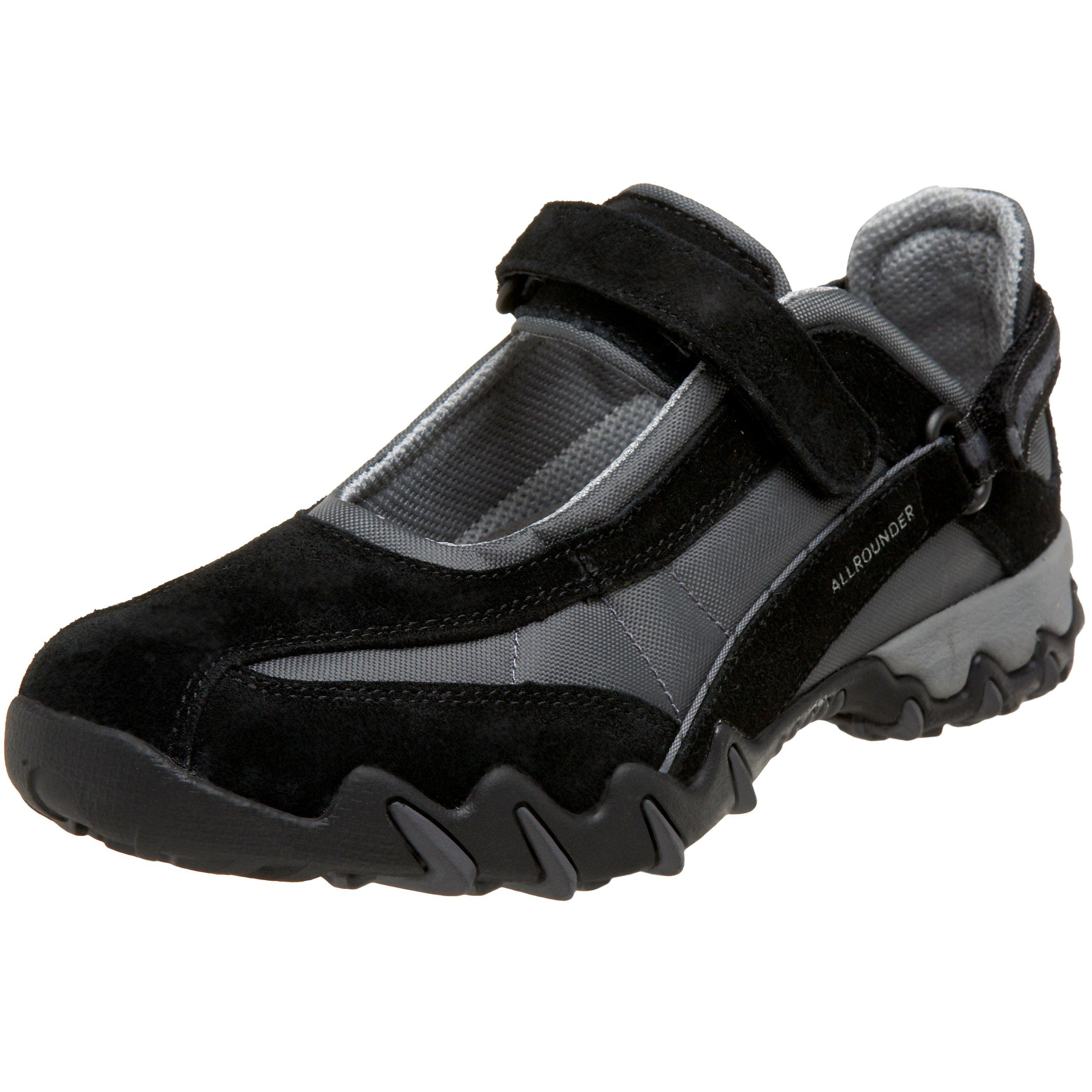 ALLROUNDER by MEPHISTO Women's Niro Mary Jane Sneaker,Black,9 M US
