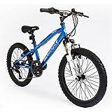"20"" Avenger Boys KIDS BIKE - Childrens MUDDYFOX Bicycle in BLUE (Hard Tail)"