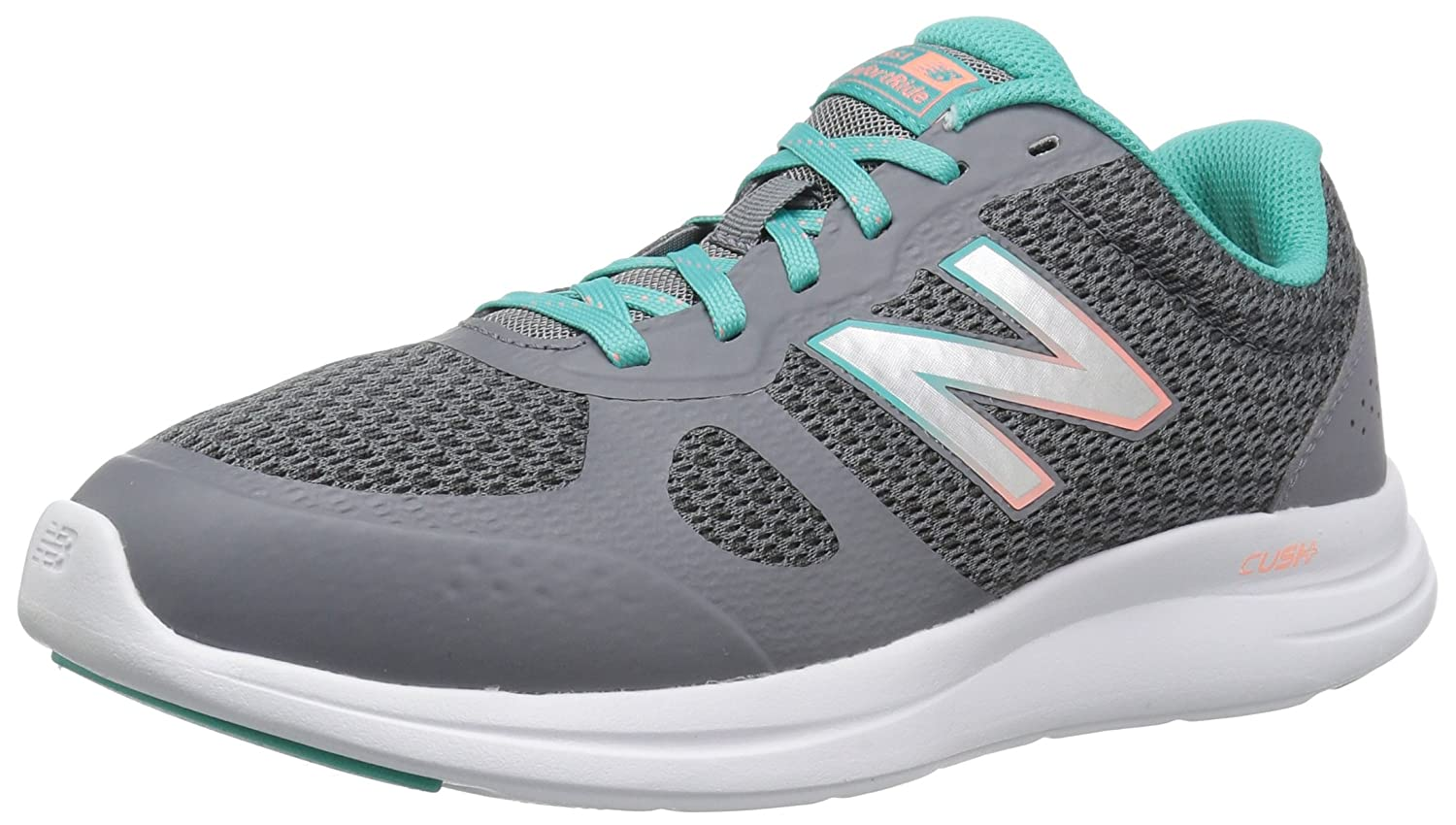 New Balance Women's Versi v1 Cushioning Running Shoe B0751RBN8D 8 B(M) US|Grey