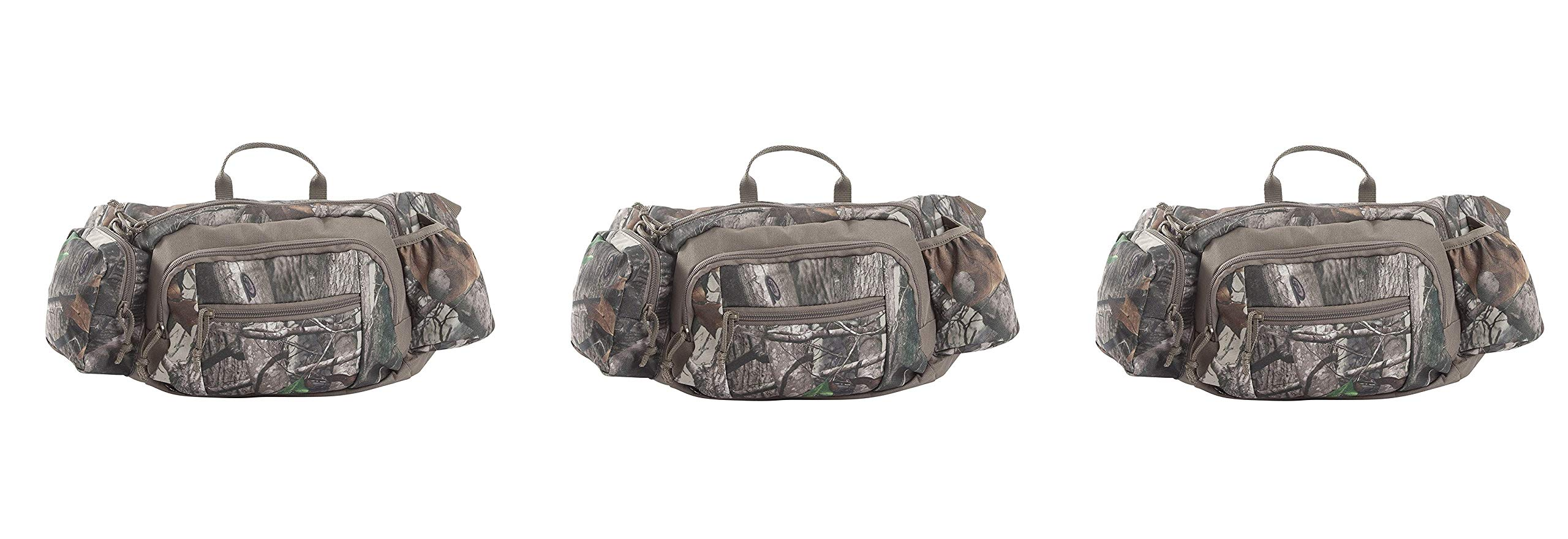 Allen Crusade Camo Hunting Waist Pack, 600 Cubic Inches, Next G2 (Pack of 3)