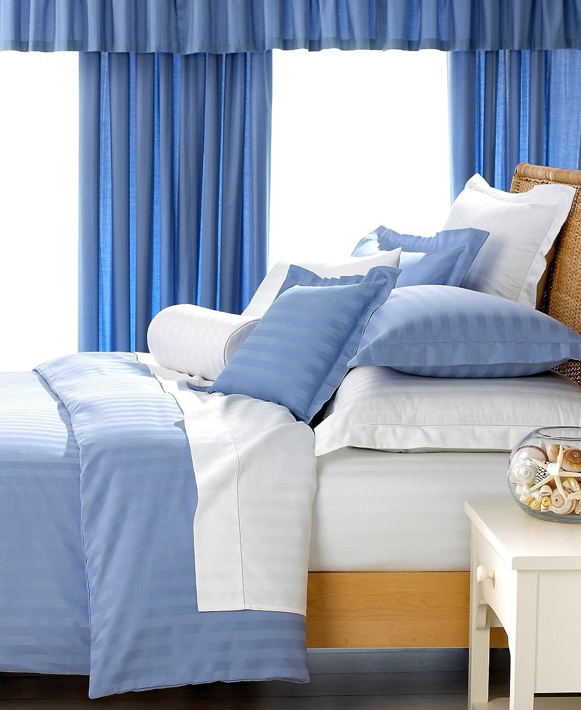 Amazon Com Charter Club Damask Stripe 500 Thread Count Twin Bedskirt Lake Home Kitchen