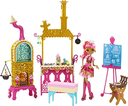 Ever After High Sugar Coated Kitchen Playset with Ginger Breadhouse Doll NEW