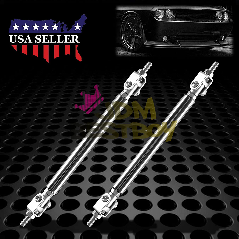 "Blue 8/"" Adjustable Rod Support for Audi BMW Bumper Lip Diffuser Spoiler"