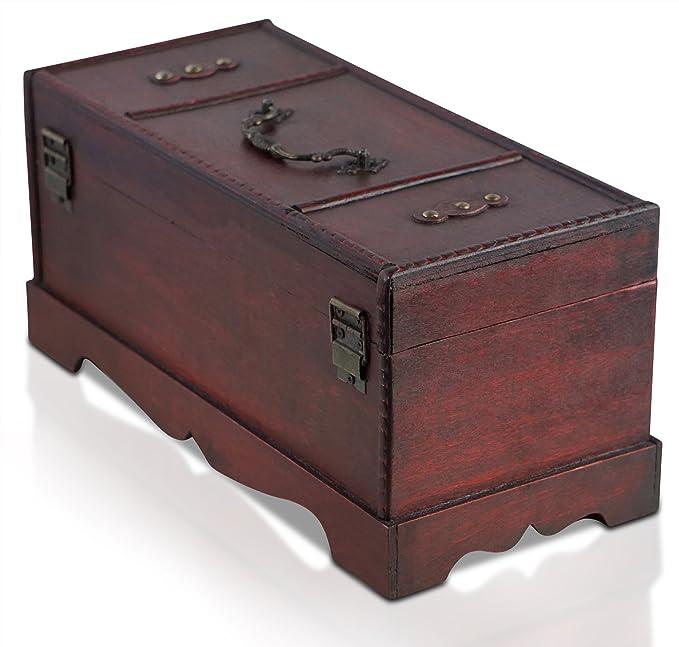 Madera Tesoro Caja Pirata Brynnberg Del De Cofre Estilo Vintage 5AcjLqRS34