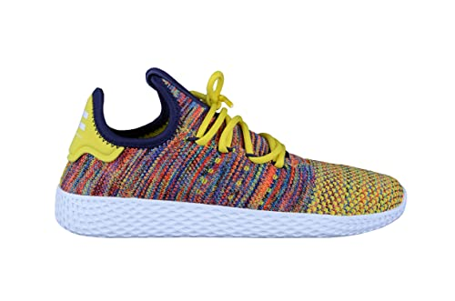 Zapatillas adidas - Pw Tennis Hu amarillo/multi/blanco talla: 42: Amazon.es: Zapatos y complementos