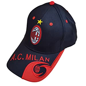 Football club AC Milan Baseball unisex Cap and colorful Keychain, Keyring