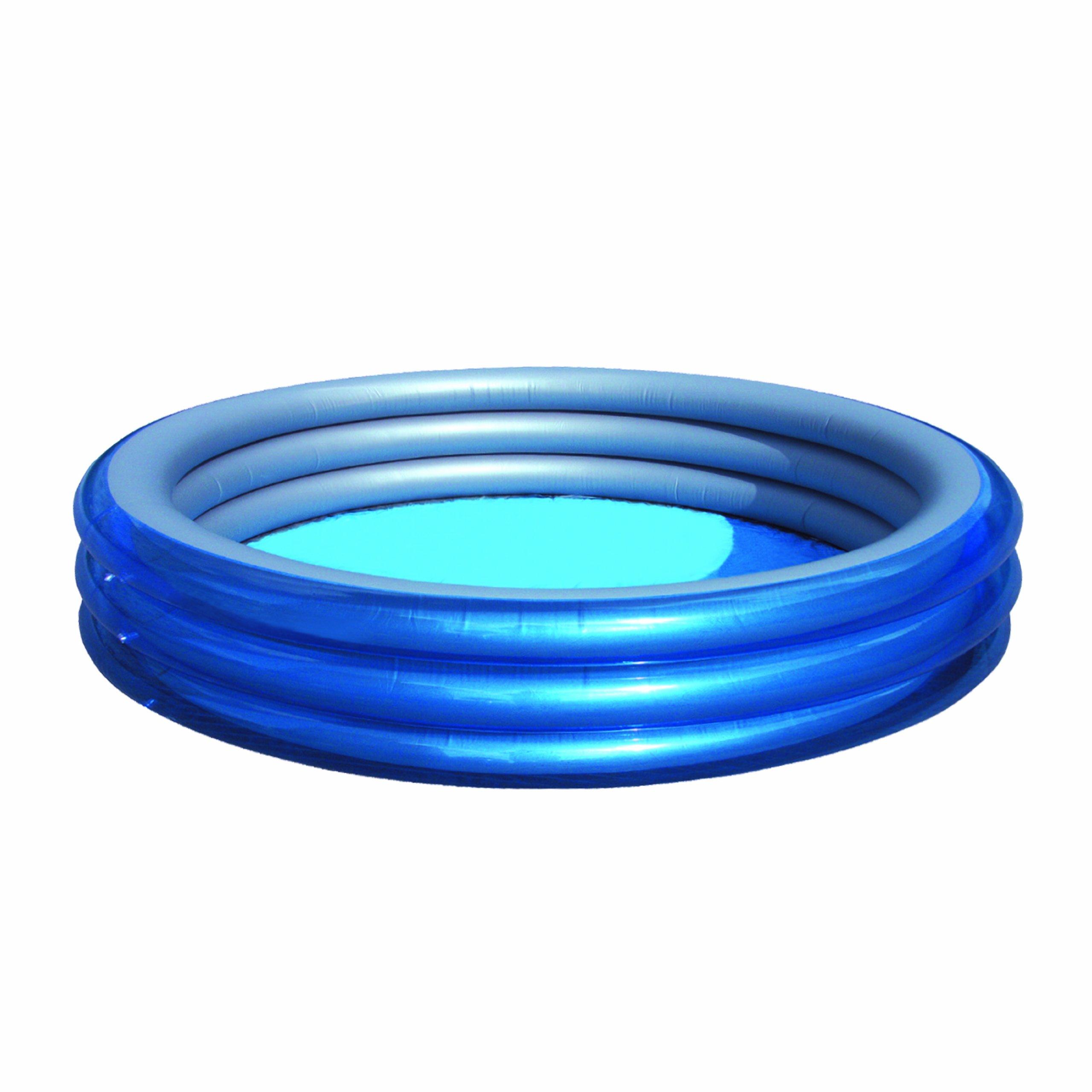 H2OGO! Big Metallic 3-Ring Inflatable Play Pool by Bestway (Image #2)