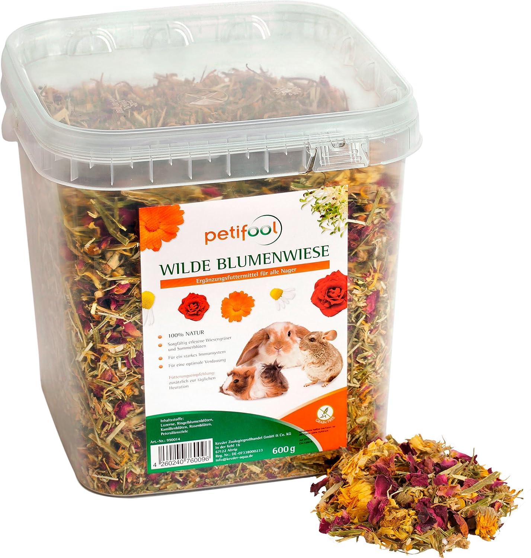petifool Complemento de forro adolescente flores de Wilde, natural y saludable Conejos Forro, 1er Pack (1x 600g) dobar 990014