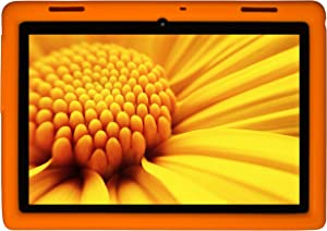 BobjGear Bobj Rugged Tablet Case for Lenovo Tab E10 (TB-X104F) Kid Friendly (Outrageous Orange)