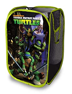 Disney Nickelodeon Teenage Mutant Ninja Turtles Pop Up Hamper