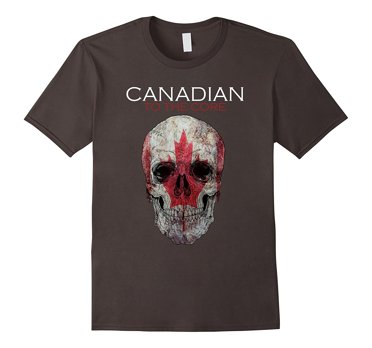 Canadian to the core skull
