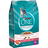 Purina ONE Dry Cat Food, Tender Selects Blend With Real Salmon, 3.5 Lb