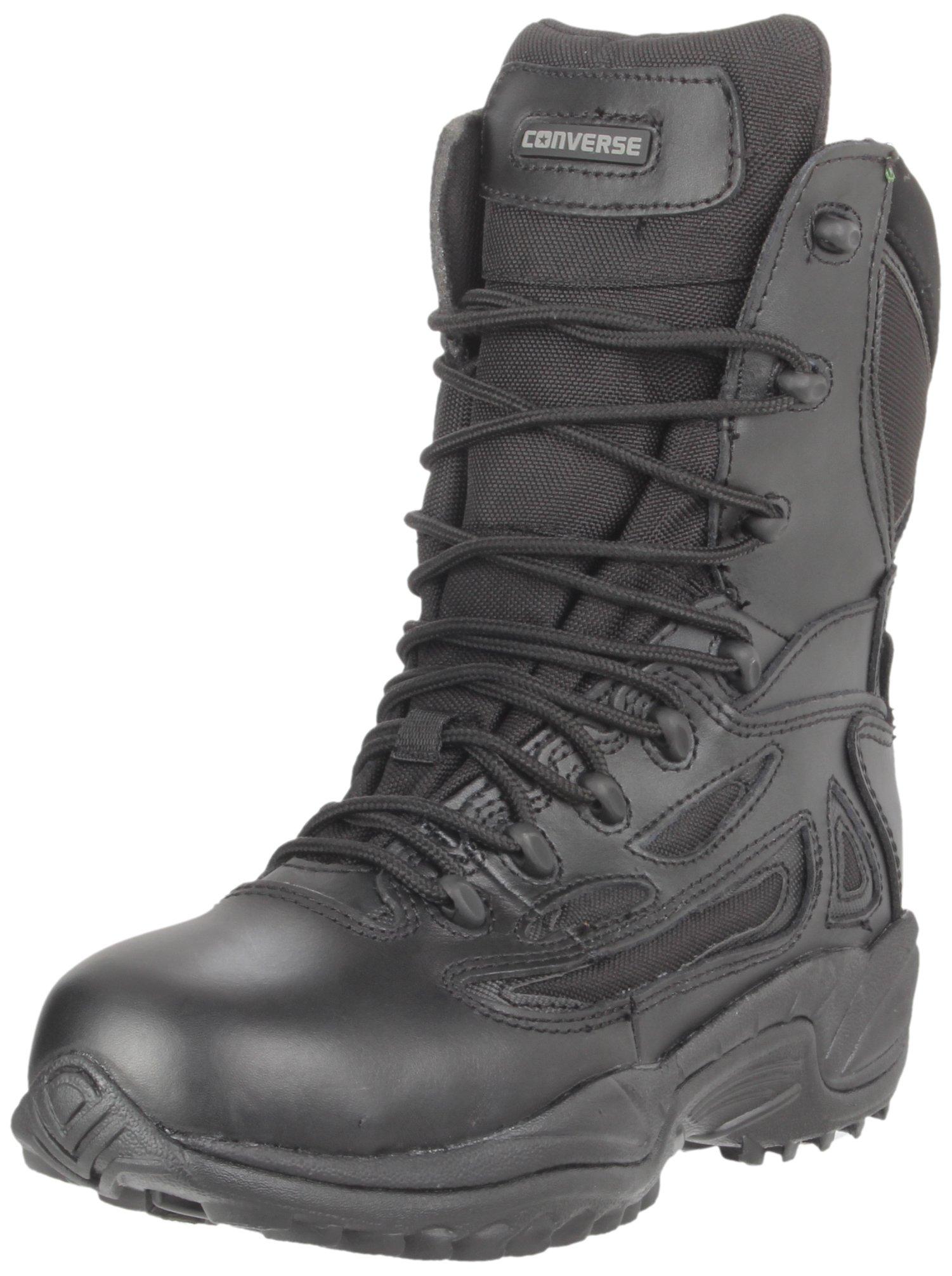 Converse Work Men's C8877 Waterproof Boot,Black,8.5 W US