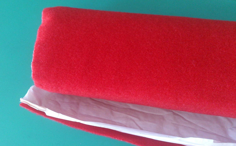 Moqueta adhesivo Acú stica roja rollo tamañ o 70 x 140 HS