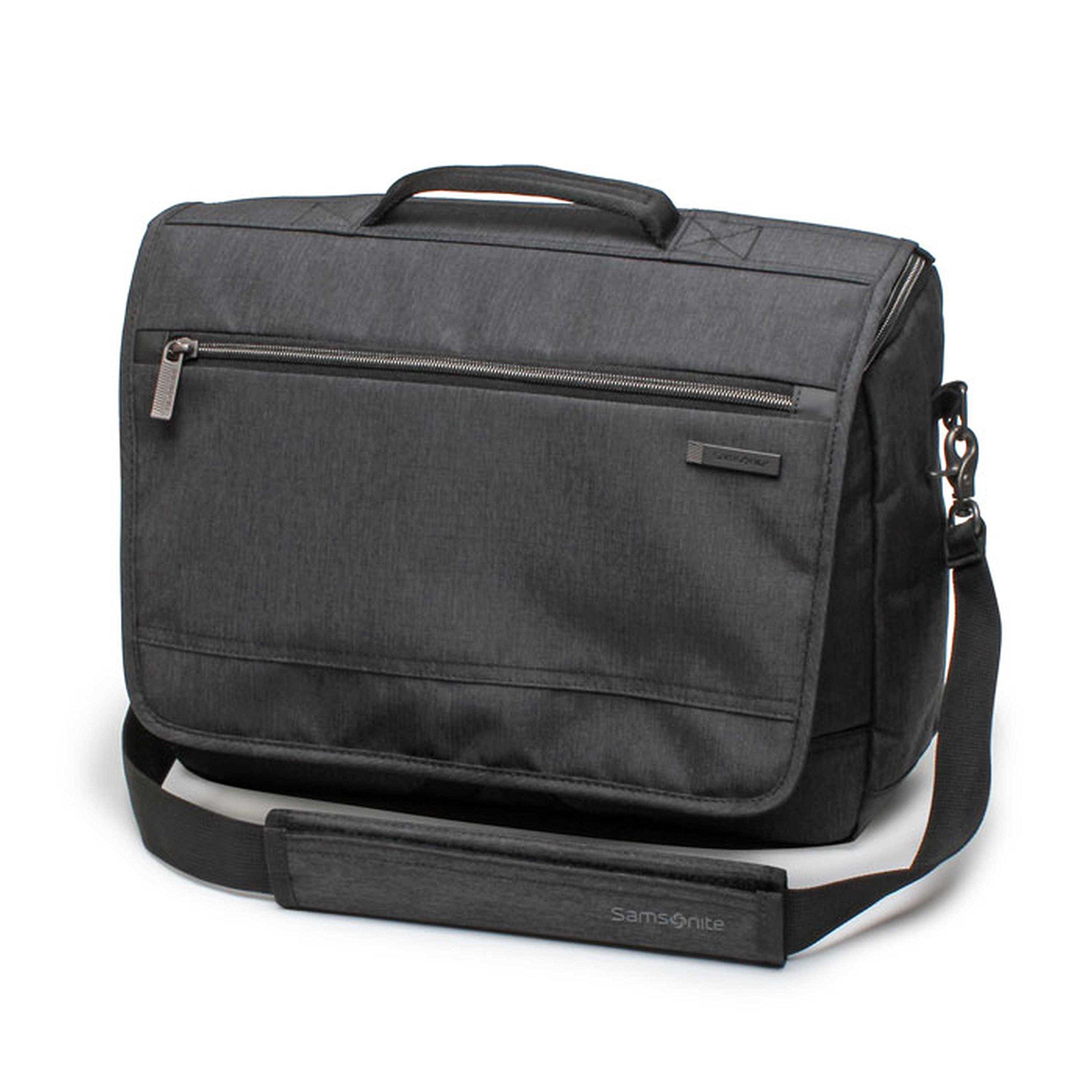 Samsonite Modern Utility Messenger Bag Laptop, Charcoal Heather, One Size