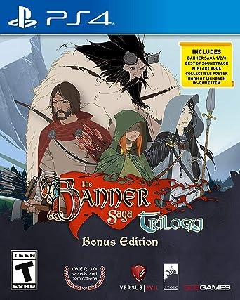 Amazon Com The Banner Saga Collection Bonus Edition Ps4 Playstation 4 505 Games Video Games