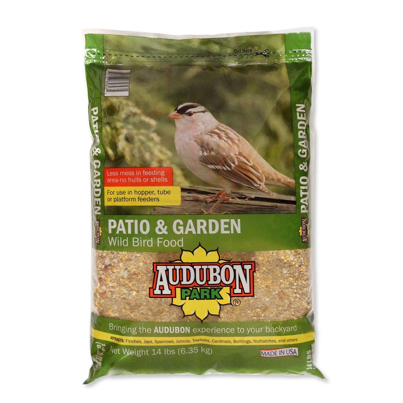 Audubon Park 12238 Patio and Garden Wild Bird Food, 14-Pounds