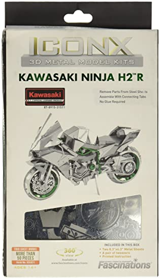 Iconx - Maqueta metálica Kawasaki Moto Ninja H2R
