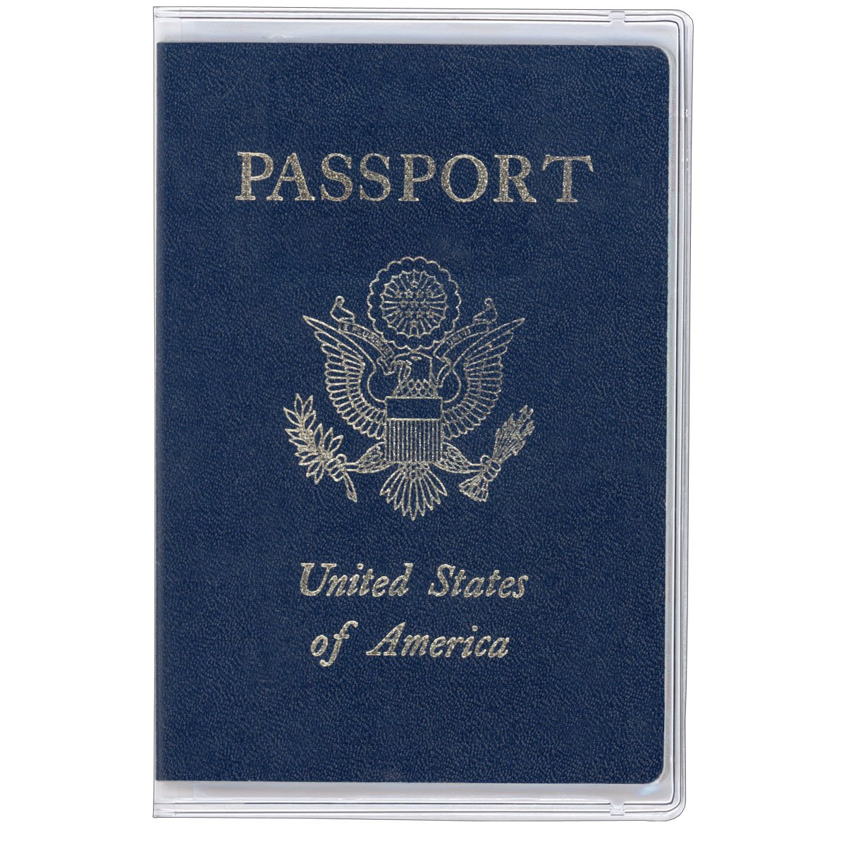 StoreSMART Clear Plastic Passport Cover - 100-Pack - RSPC1204-100