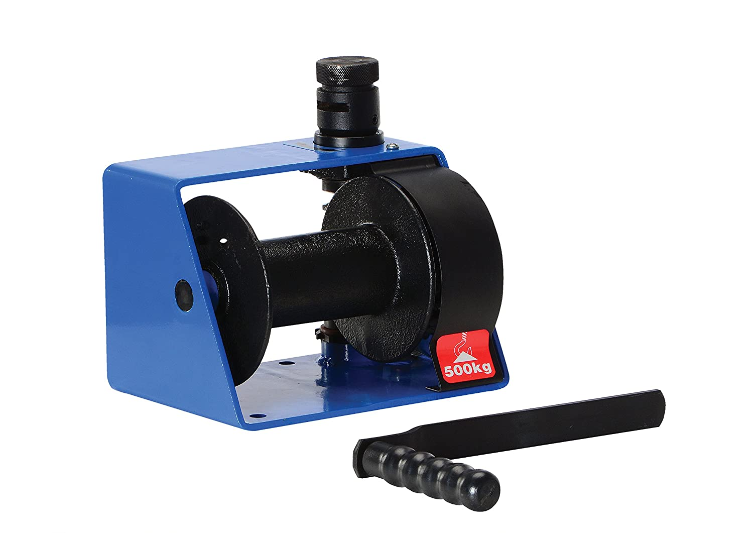 7 Length x 10-1//4 Width x 7 Height 1//4  Wire Rope 7 Length x 10-1//4 Width x 7 Height Vestil Manufacturing 1//4  Wire Rope 1000 lbs Capacity Vestil HWV-1000 Hand Winch with Vertical Handle Worm Gear