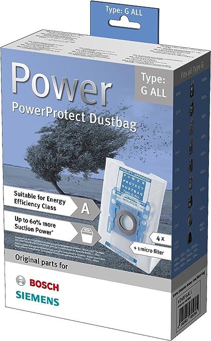 Bosch- Bolsa de aspiradora GXL 467342, Blanco: Amazon.es: Hogar
