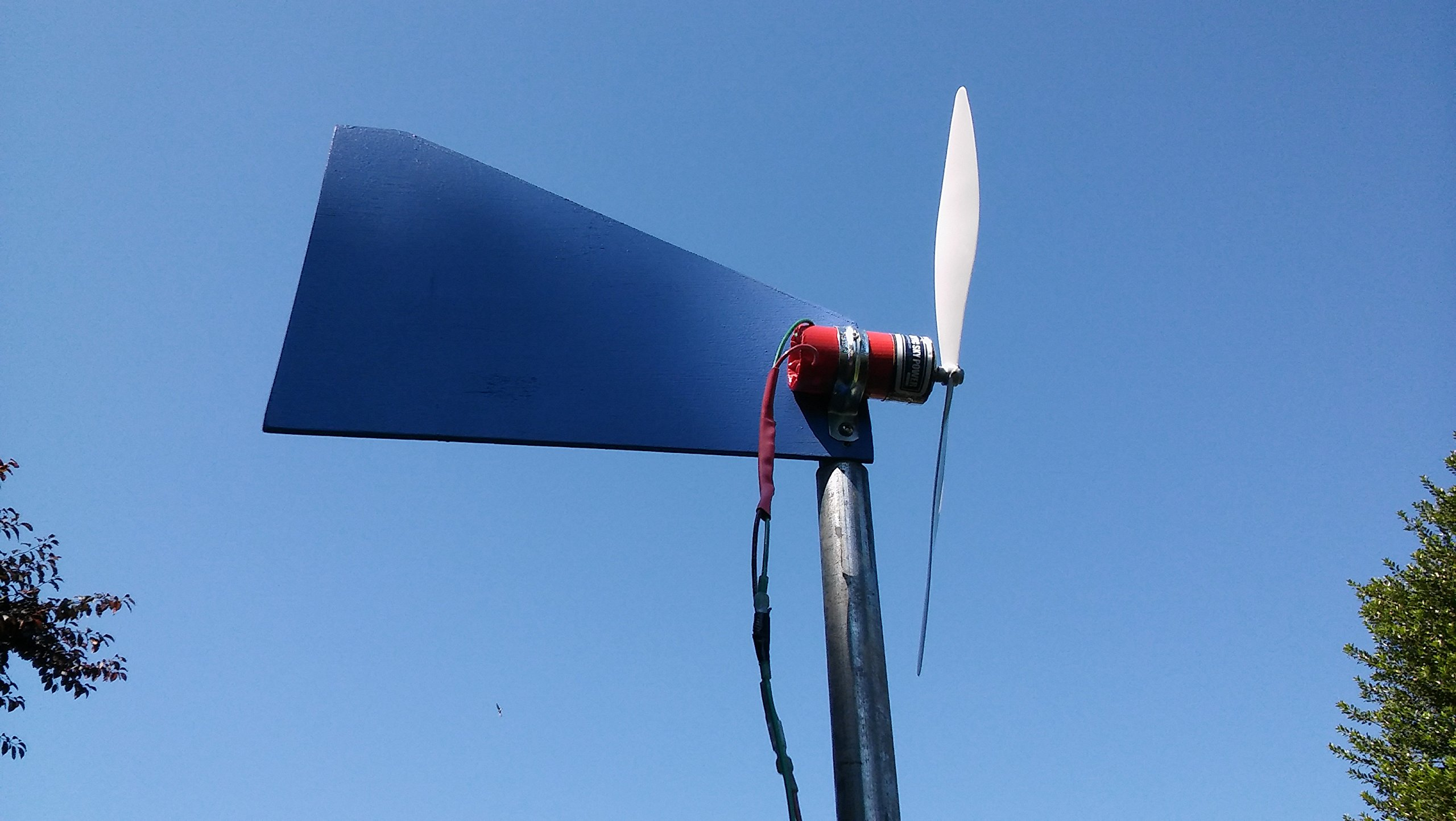 Pacific Sky Power Charger Wind Turbine Generator with Fin by Pacific Sky Power (Image #8)