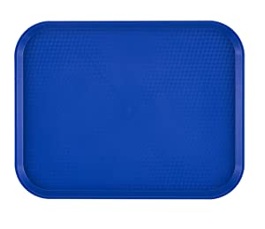 Cambro 1418FF186 Textured Fast Food Tray, 13-13/16