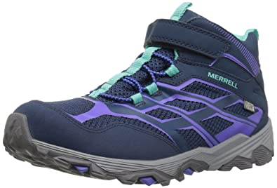 dbcd369a0778 Merrell Kids  Moab FST Mid a C Waterproof Sneaker