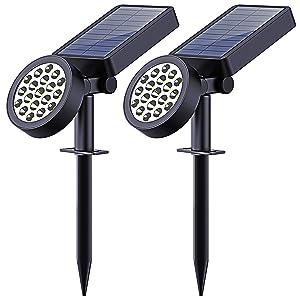 Solar Yard Lights Outdoor LED Solar Spotlights