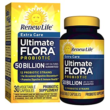 Image result for renew life ultimate flora probiotic