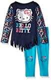 Hello Kitty Toddler Girls' 2 Piece Long Sleeve and