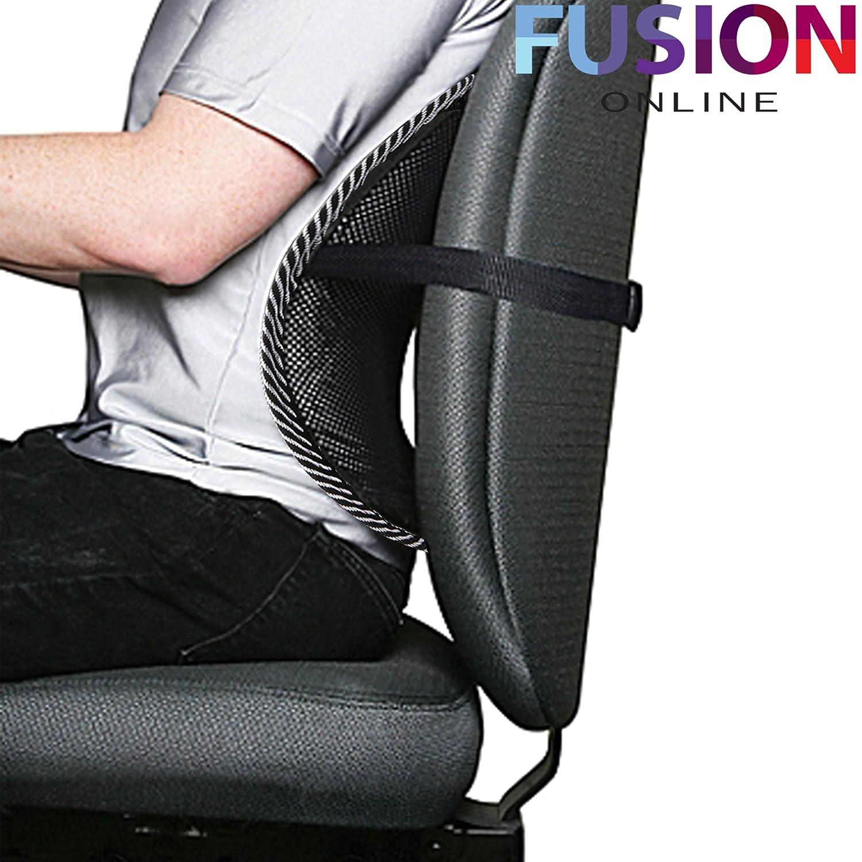 Supporto lombare in rete per sedia per ufficio e auto