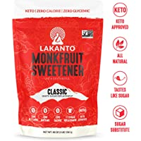 Lakanto Monkfruit 1: 1 Sugar Substitute   3 Ib NON GMO (Classic White)