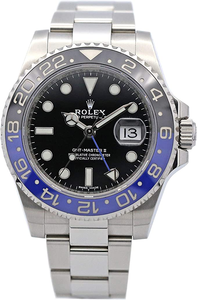 Rolex GMT-Master II Ref# 116710BLNR Batman Stainless Steel 40mm
