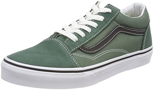 Vans Old Skool, Zapatillas Unisex para Niños, Negro (Duck Green/Black Q7m), 34.5 EU: Amazon.es: Zapatos y complementos