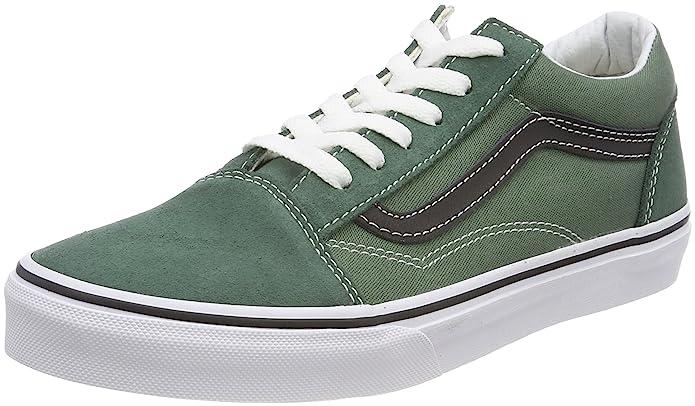 Vans Old Skool Sneaker Unisex-Kinder Grün (Duck Green)