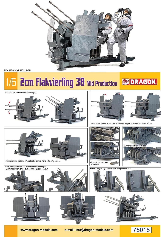 1:6 2cm Flakvierling 38 mid Production