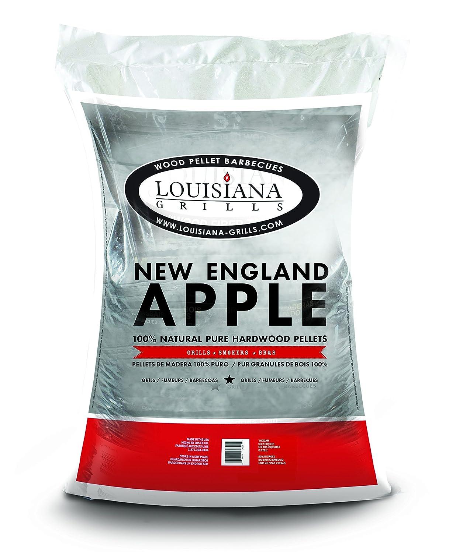 Louisiana Grills 55403 New England Apple Pellets, 40-Pound