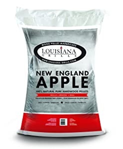 Louisiana Grills 55403 New England Apple Pellets, 40-Pound