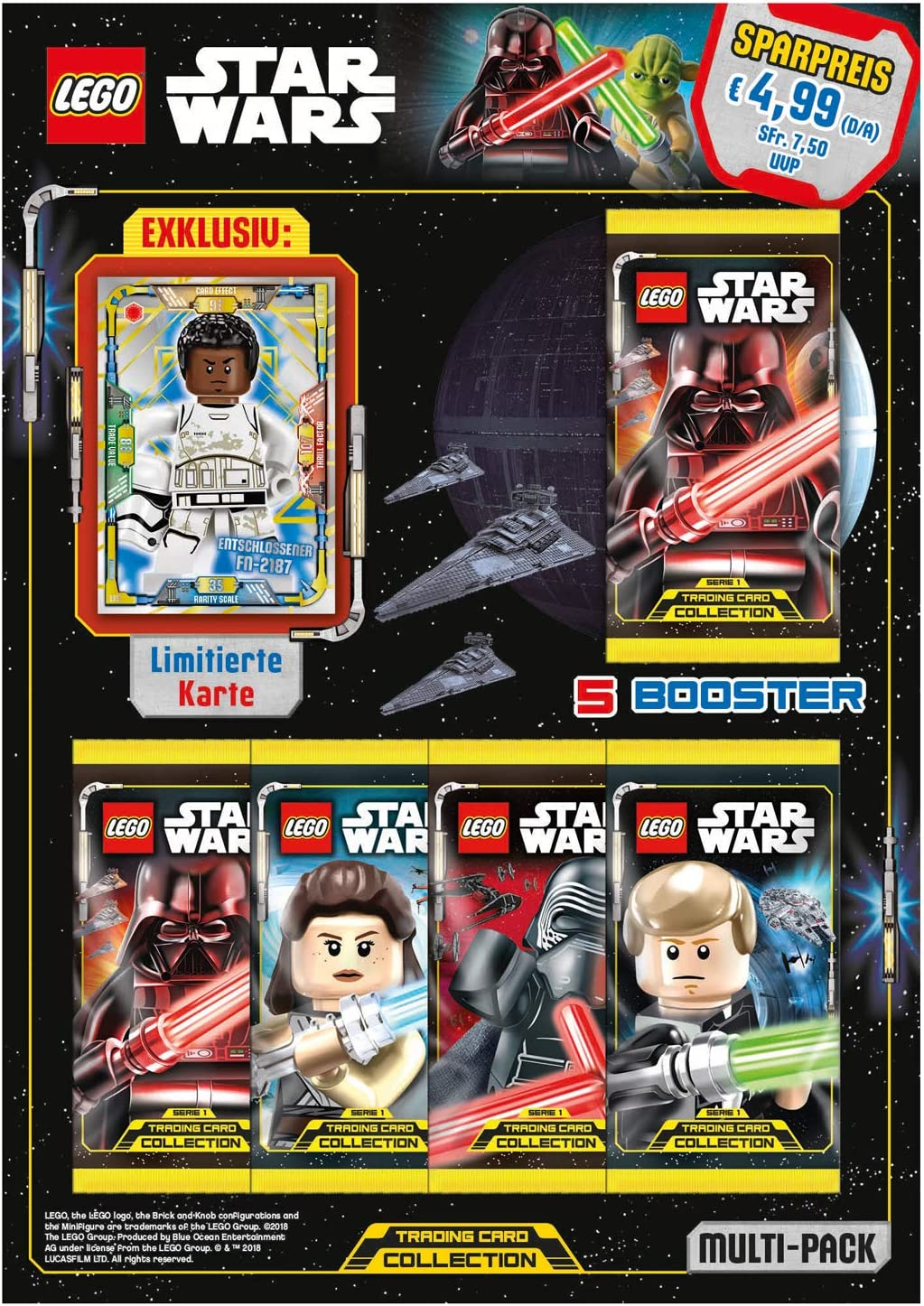 Top Media 180248 Lego Star Wars Cartas coleccionables, Multi Pack ...