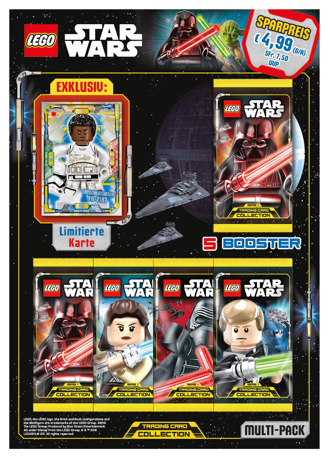 Amazon.com: Top Media 180248 Lego Star Wars Trading Cards ...